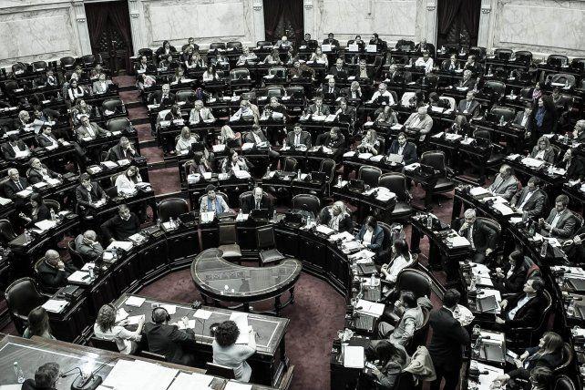 Foto Facebook: Honorable Cámara de Diputados de la Nación Argentina.