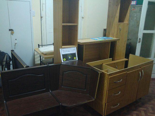 Quiso vender por Facebook muebles robados y lo descubrieron