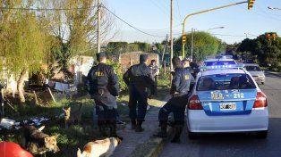 Detuvieron a dos personas tras nueve allanamientos en la Villa 351