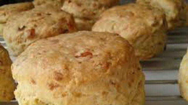 Recetas: Para este miércoles te proponemos scons de jamón y queso