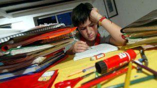 España: padres de alumnos iniciaron una histórica huelga de deberes