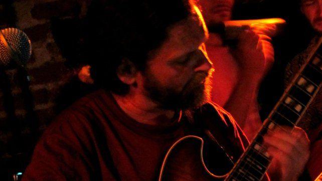 Guitarrista. Sergio Scacchi