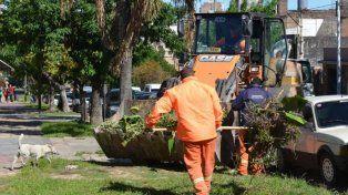 Limpieza. Instaron a los vecinos a que mantengan sus patios.