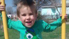 tadeo tiene 3 anos, padece leucemia y necesita ayuda