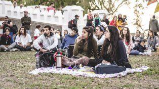 La primera edición fue un hallazgo para la cultura que se disfrutó al aire libre. Foto Gentileza E4T.