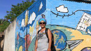 Un viaje, dos encuentros y la experiencia del muralismo mexicano