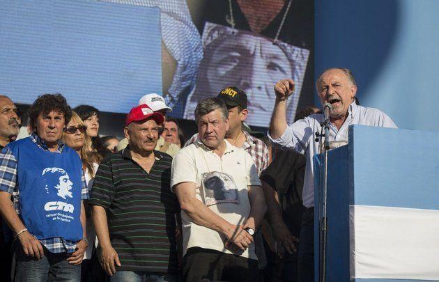 Fue multitudinaria la marcha de CTA contra Macri en Plaza de Mayo
