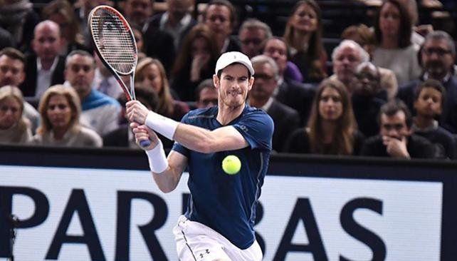 Murray festejó su flamante condición de número uno en París
