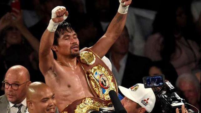 Pacquiao volvió al boxeo con una cómoda victoria ante Vargas