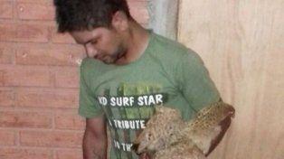 Un borracho acabó preso por violar a una gallina