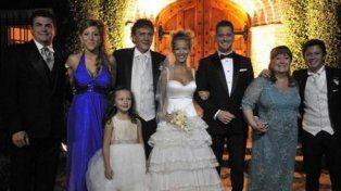 La familia de Luisana Lopilato
