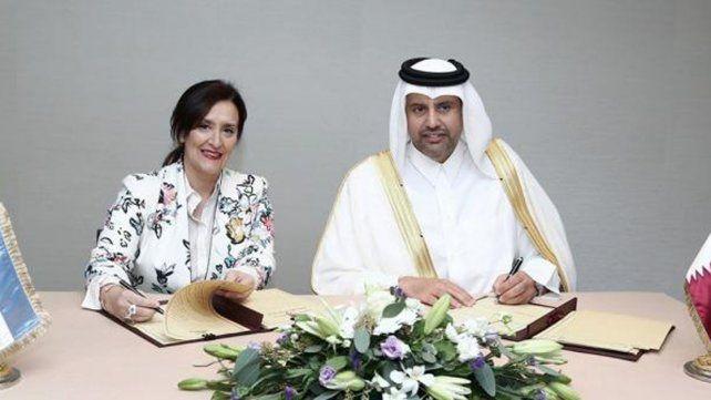 Crearon un fondo argentino-qatarí para obras de infraestructura en el país