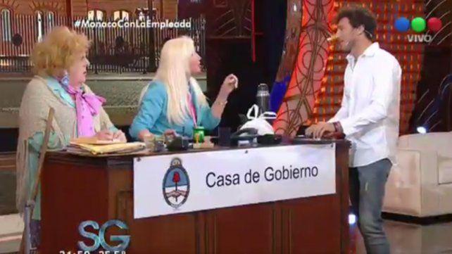 Pico Mónaco: Cuando conocí a Pampita, ella estaba vestida