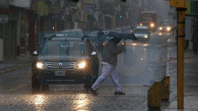 Jornada con probables lluvias y una máxima de 26 grados en la provincia
