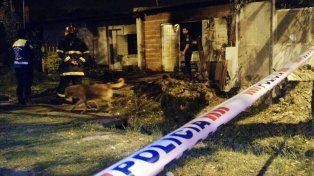 Incendiaron la casa de Orlando Ojeda