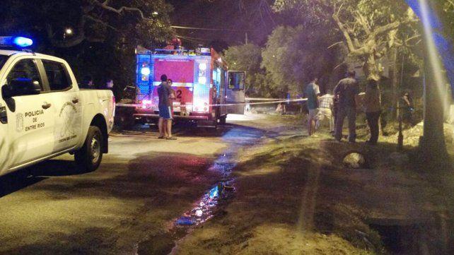 Incendiaron la casa de Orlando Ojeda, detenido por el doble femicidio en Paraná