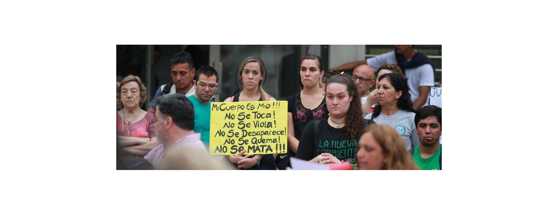 Paraná volvió a gritar Ni una menos