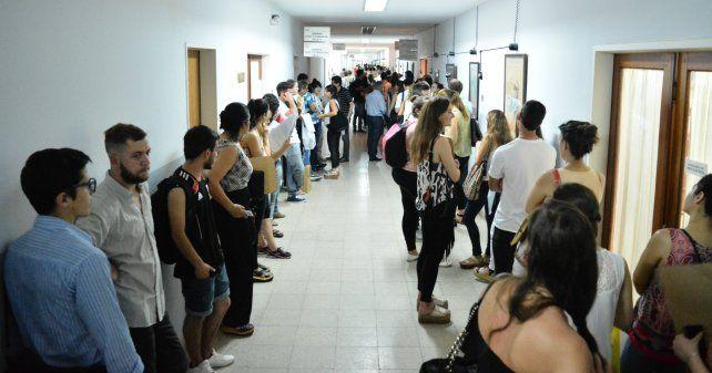 Se inscribieron 1444 personas al concurso de ingreso al Poder Judicial