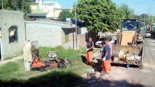 Se realizó un nuevo operativo de descacharrización en Paraná