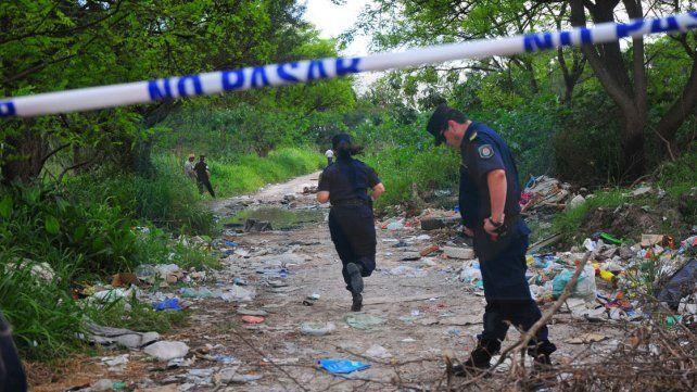 Suciedad. En el predio donde fue encontrado el cadáver se nota la ausencia del Estado municipal.