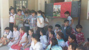 Alumnos de la escuela Bavio festejaron el Día de la Tradición