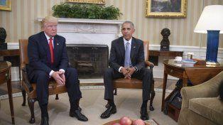 Trump acusó a Obama de haber intervenido sus teléfonos