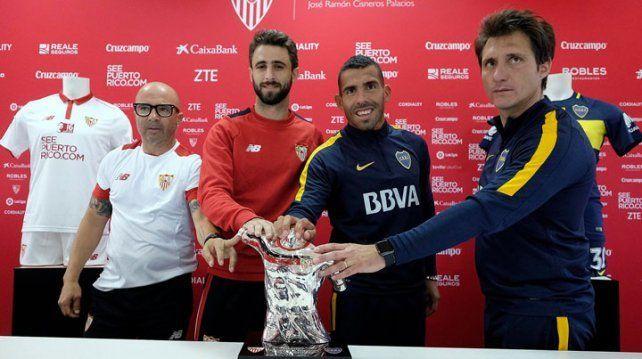 El Xeneize saldrá con lo mejor ante Sevilla