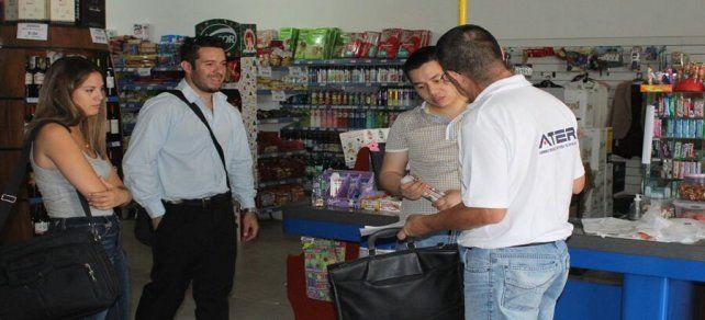 ATER y Trabajo realizan operativos de control fiscal y laboral en Paraná y Concordia