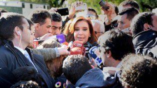 Cristina pidió a la militancia que no vaya este martes a Comodoro Py