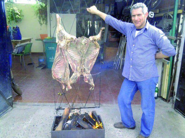 Con los mejores cortes de carne, conquistó el país trasandino