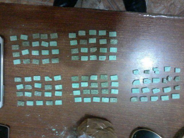 Una pareja que ingresaba a Entre Ríos llevaba 100 pastillas de éxtasis
