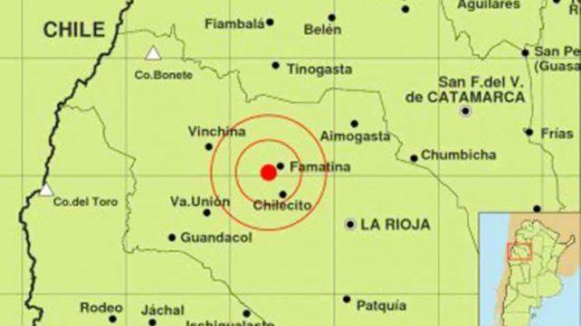 Hubo sismos en distintos lugares y se sintió La Rioja