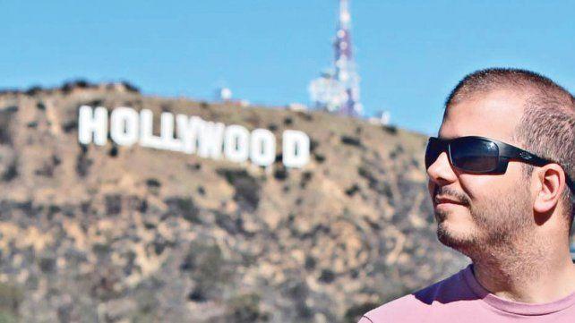 Un paranaense pisa fuerte en la industria del cine