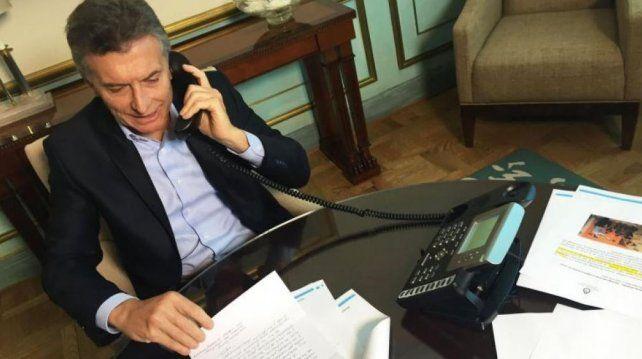 Macri dialogó con Donald Trump
