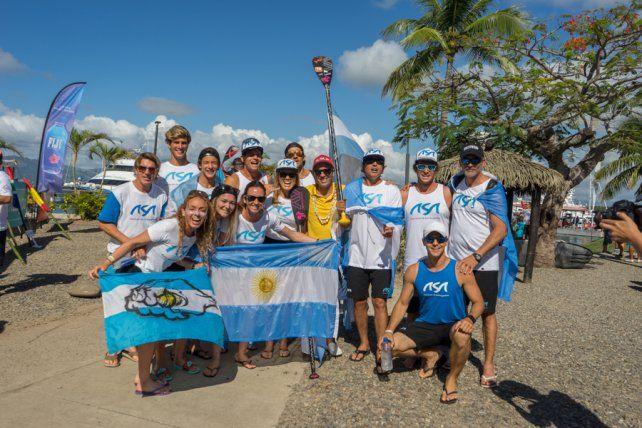 Pancho Giusti está en Fiji con el equipo argentino para competir en el mundial