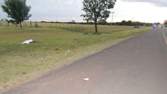 Falleció un motociclista tras chocar en la ruta 1