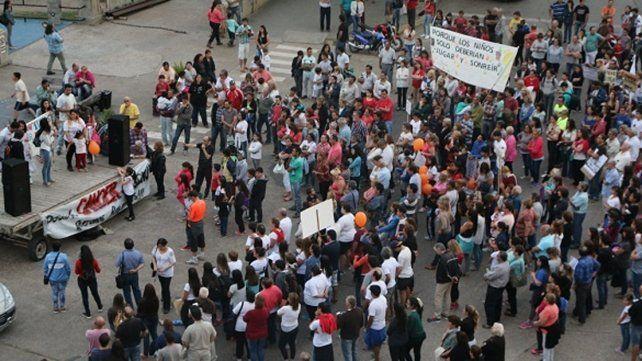 En Gualeguaychú los casos de cáncer triplican la media nacional: vecinos marcharon para exigir explicaciones