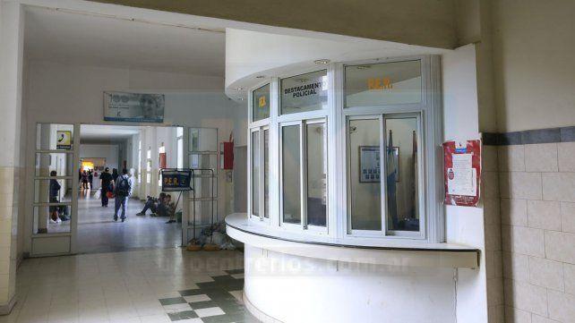Las víctimas están internadas en el hospital San Martín.