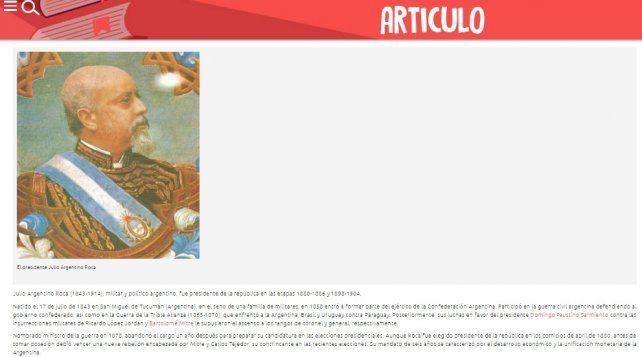 Suma críticas Magnaplus, el sitio educativo presentado por la Municipalidad de Paraná