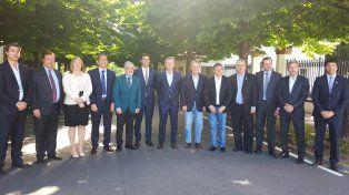 Apoyo del gobierno entrerriano a la reforma política de Macri