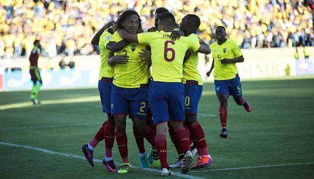 Ecuador goleó a la Vinotinto