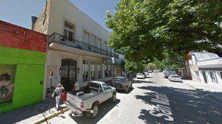 El hotel en donde Castillo esperará el juicio en Gualeguaychú. Foto instantstreetview.com.