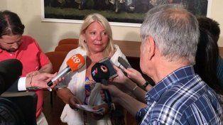 Carrió confirmó que será candidata pero falta saber el distrito y si es para senadora o para diputada. Foto Facebook Elisa Lilita Carrió.