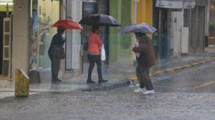 Jornada con probabilidad de chaparrones y tormentas en la provincia