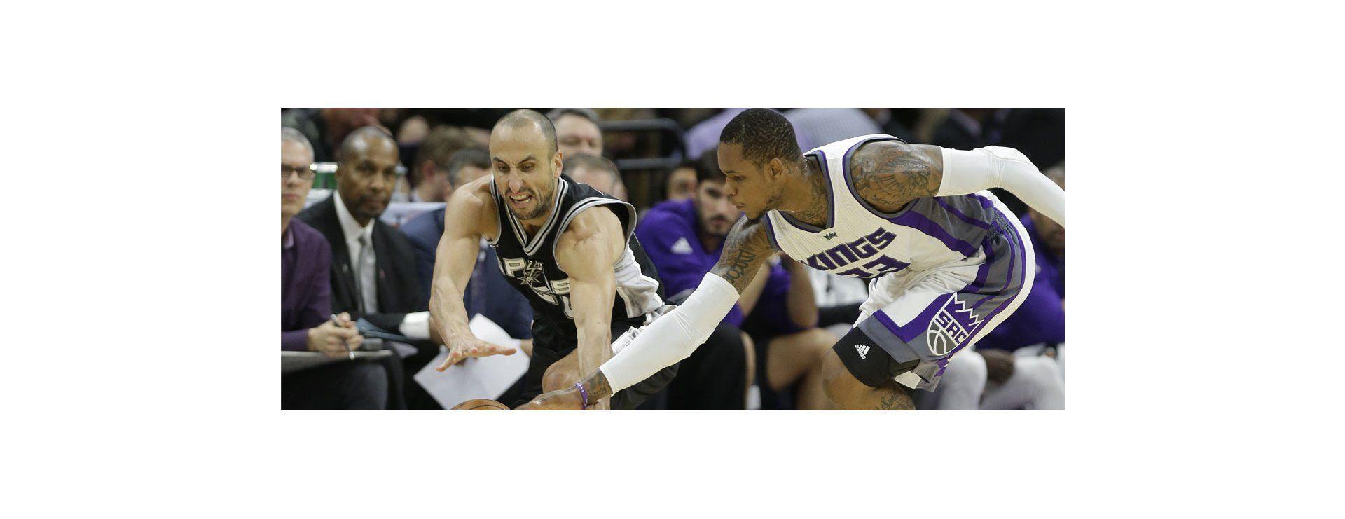 Los Spurs vencieron a Sacramento por 110 a 105 y sumaron su cuarto triunfo en fila