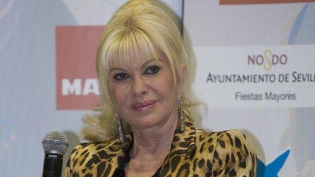 Ivana, primera mujer de Trump, quiere una embajada