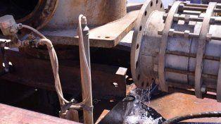 Reemplazan la bomba de agua más antigua de la Toma Nueva de Paraná