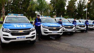 Escuelas de Policía: cierre de ciclo lectivo y entrega de equipamiento
