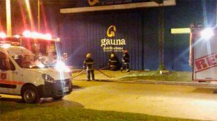 Se incendió un predio de una distribuidora de Chajarí