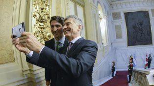 Macri y Trudeau acordaron cooperar en comercio, minería y refugiados